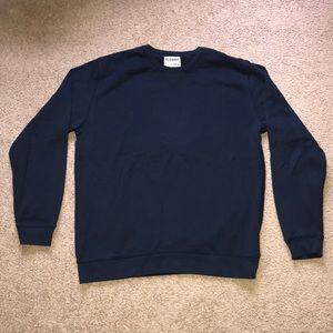 Men's old navy navy blue crew neck sweatshirt